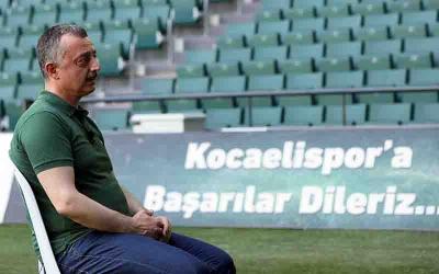 ''Kocaelispor kimsenin iz düşümü olmamalıdır''