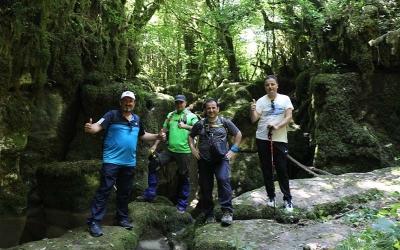 Körfez'de trekking keyfi
