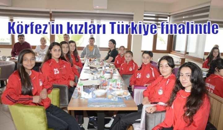 Körfez'in kızları  Türkiye finalinde