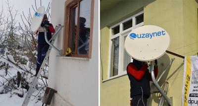 Köylere internet götürmeye devam ediyor