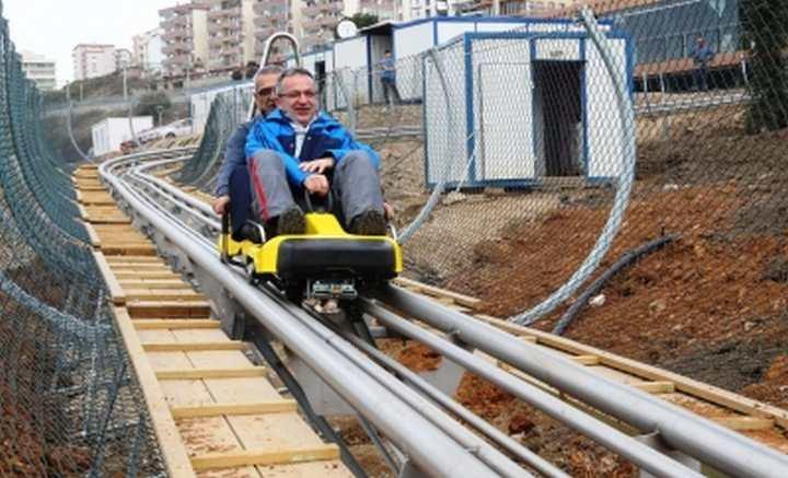 Macera'da ilk test sürüşü Köşker'den