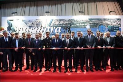 Marmara Boat Show Deniz Araçları ve Ekipmanları Fuarının Açıldı