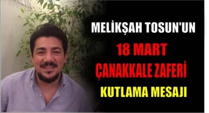 Meliksah Tosun 18 Mart Çanakkale Zaferini Kutladı