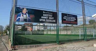 Merhum Gazeteci Ahmet Akay'ın ismini yaşatacak