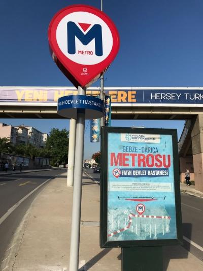 Metro Duraklarının yerleri belirlendi