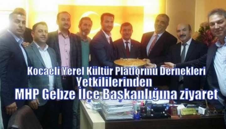 MHP Gebze İlçe Başkanlığına ziyarette Bulundular