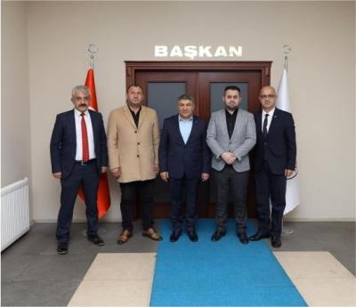 MHP'den Başkan Şayir'e ziyaret