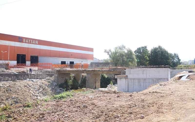 Modern köprü şekillenmeye başladı