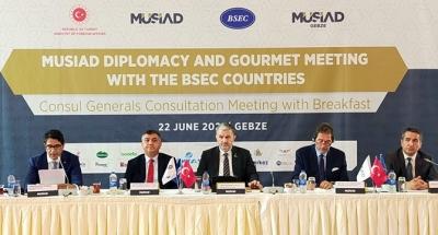 MÜSİAD KEİ Diplomasi Toplantısı İlimizde Gerçekleştirildi
