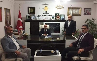 Mustafa Malkoç'tan Acay'a hayırlı olsun ziyareti!