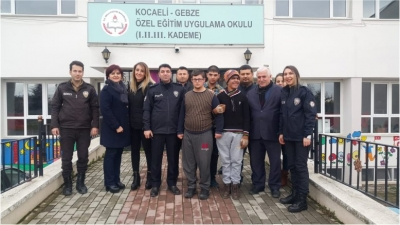 Mutlukent Polis Merkezi'nden ziyaret