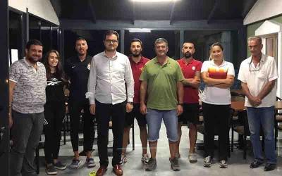 Önal, Galatasaray Kürek Takımı'nı ziyaret etti