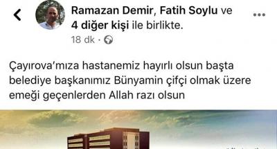 ORDU'LULAR ÇİFTÇİ'YE TEŞEKKÜR ETTİ