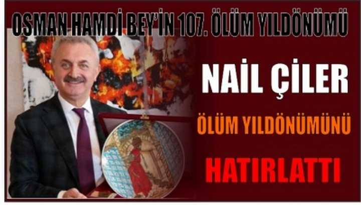 OSMAN HAMDİ BEY'İN 107. ÖLÜM YILDÖNÜMÜ