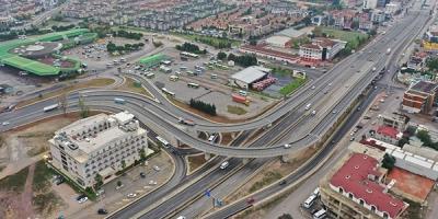 Otogar Köprülü Kavşağı yeşillendiriliyor