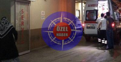 OTOMOBİL İLE MOTOSİKLET ÇARPIŞTI.