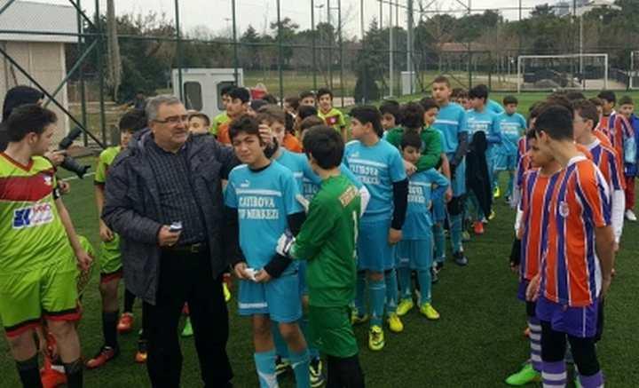 PENDİK CUP'TA ÇAYIROVA GENÇLERBİRLİĞİ FIRTINASI ESTİ