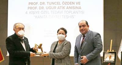 Prof. Dr. Tuncel Özden ve Prof. Dr. Uğur Atik anıldı