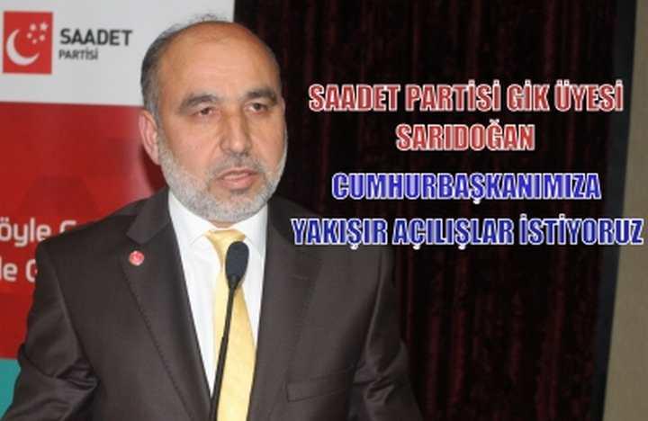 Recep Sarıdoğan Açılış bayramını Eleştirdi