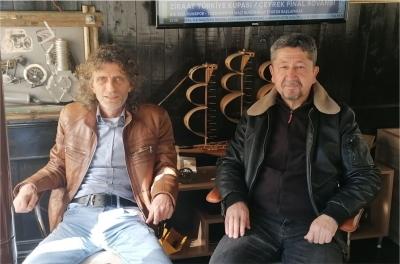 Rıdvan Şükür, Gebzespor başkanının misafiri oldu.