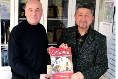 Rıdvan Şükür, Rumeli Dergisinin misafiri oldu