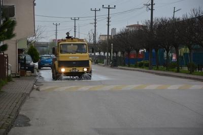 Sanayi Mahallesi dezenfekte edildi