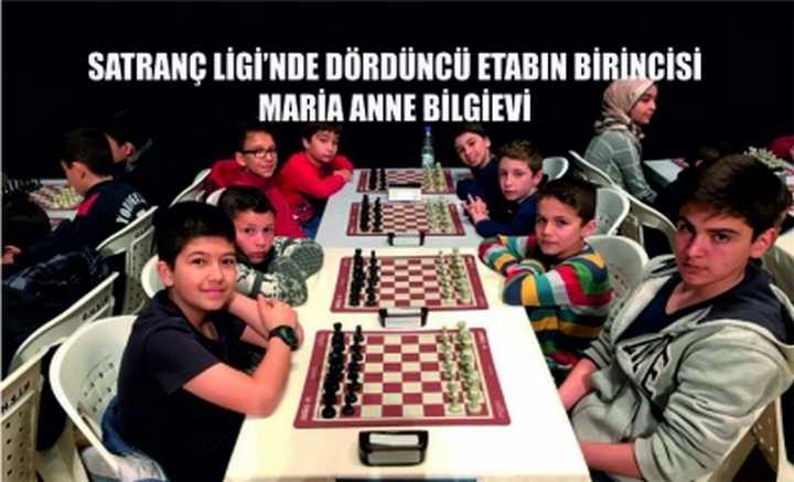 Satranç Ligi'nde dördüncü etabın birincisi Maria Anne Bilgievi