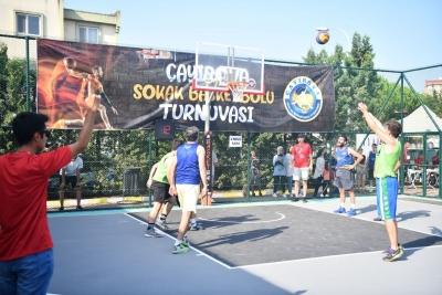Sokak Basketbolu Heyecanı Yaşanıyor