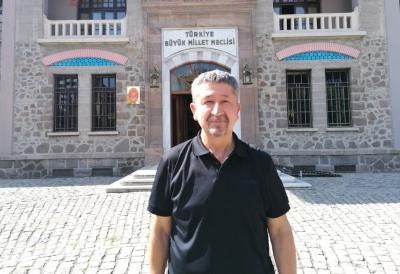 Tarihçi Rıdvan Şükür, Ankara'dan döndü
