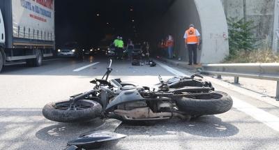 TEM'de kaza: 1 ölü 1 yaralı