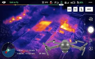 Termal Dronlara Büyük görev
