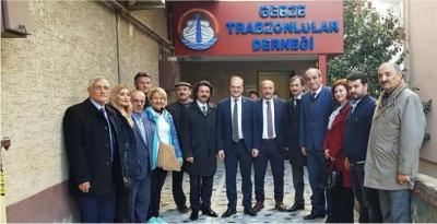 Tığlı'dan Gebze'de bir dizi ziyaret
