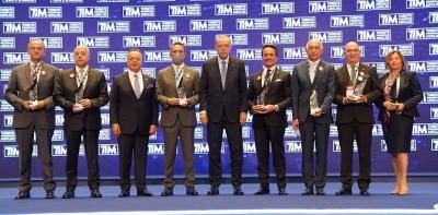 TİM'den Kibar Holding'e İhracat Ödülü