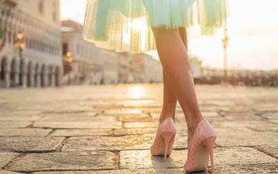 Topuk Dikenine Karşı Topuklu Ayakkabı Giyin