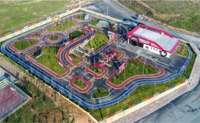 Trafik Eğitim Parkı Açıldı
