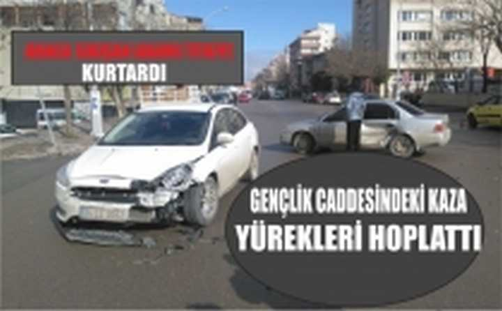 Trafik Kazası Korkuttu