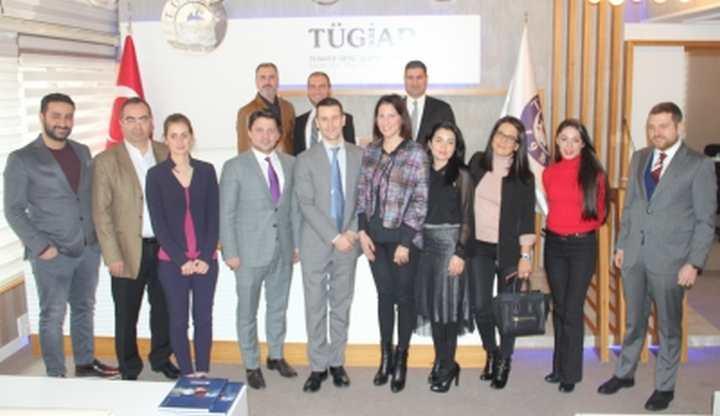 TÜGİAD Ankara uluslararası işbirliğine hız veriyor