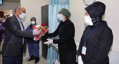 Tüm kurumlarla pandemiye karşı ortak mücadele