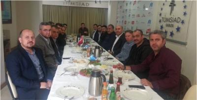 TÜMSİAD Gebze Üyeleriyle Kahvaltıda Bir Araya Geldi