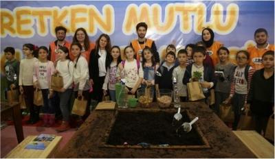 ''Üretken Mutlu Çocuklar'' Kocaeli Tarım Fuarında