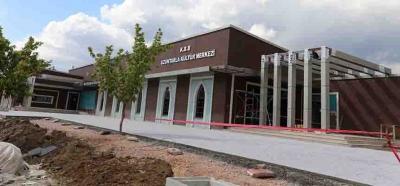 Uzuntarla'nın artık kültür merkezi var