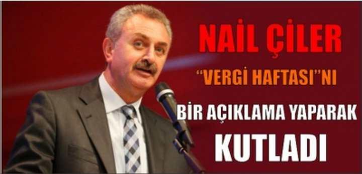 """""""VERGİ HAFTASI""""nı Bir Açıklama Yaparak Kutladı"""