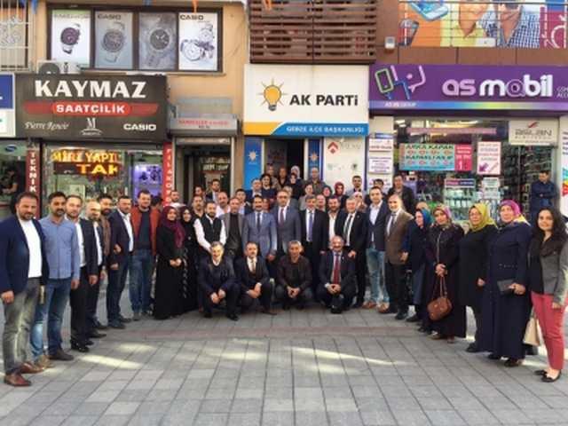 Yaman ve Çakır'dan teşekkür ziyaretleri