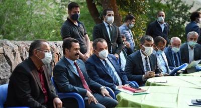 Yaman'dan Muş ve Bursa'da yoğun çalışma
