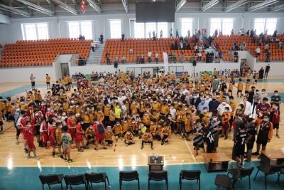 Yaz spor okullarına coşkulu kapanış