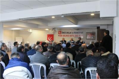 yeni gençlik başkanı Mustafa Sezgin oldu..