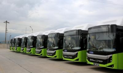 Yeni otobüslerden 20 adedi daha geldi