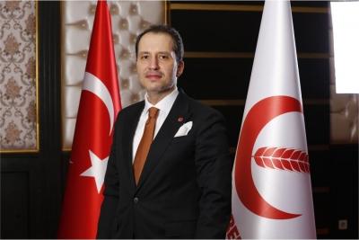 Yeniden Refah Lideri Fatih Erbakan'dan 19 Mayıs mesajı