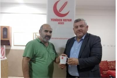 Yeniden Refah Partisi Gebze İstasyon Mahallesi Masa Tenisi Turnuvası yaptı