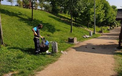 Yeşil alanlar ter temiz
